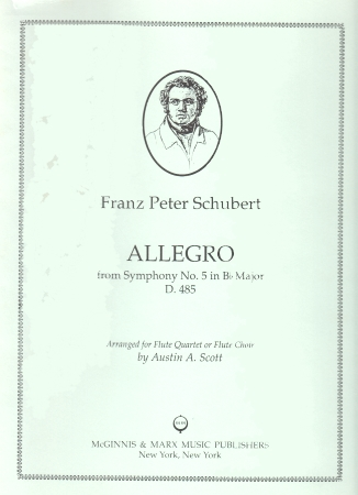 ALLEGRO from Symphony No.5 in Bb major, D485