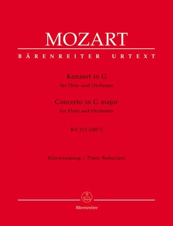 CONCERTO No.1 in G major K313 (285c) Urtext