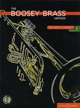 BOOSEY BRASS METHOD Book 1 + CD Trumpet/Cornet