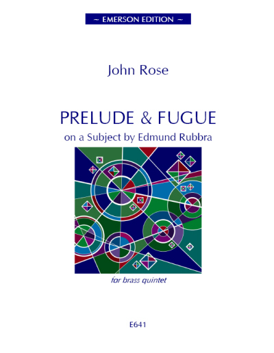 PRELUDE AND FUGUE on a Subject by Edmund Rubbra (score & parts)