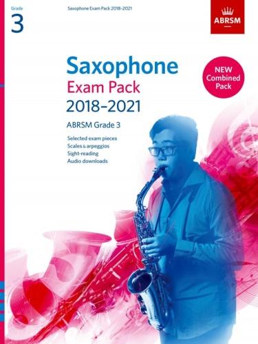 SAXOPHONE EXAM PACK Grade 3 (2018-2021)
