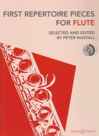 FIRST REPERTOIRE PIECES  for Flute + CD