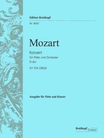 CONCERTO No.2 in D major K314 (285d)