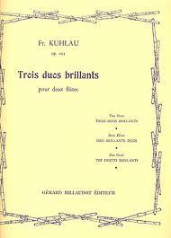 3 DUOS BRILLIANTS Op.13 bis