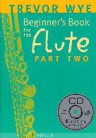 BEGINNER'S BOOK FOR THE FLUTE Part 2 + CD