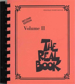 THE REAL BOOK Volume 2 (European Pocket Edition)