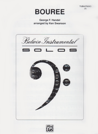 BOURREE bass clef