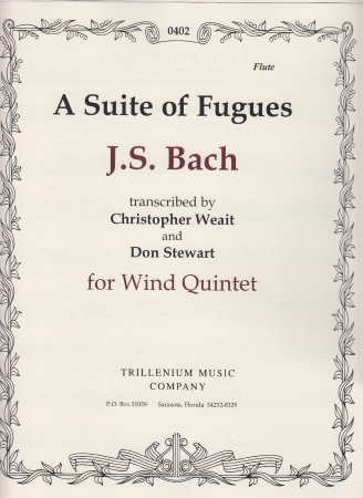 A SUITE OF FUGUES parts