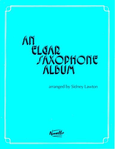 AN ELGAR SAXOPHONE ALBUM