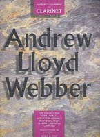 ANDREW LLOYD WEBBER FOR CLARINET with chord symbols