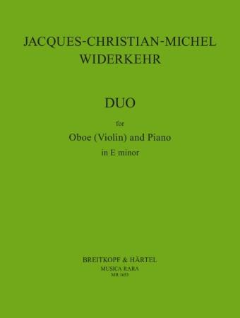 DUO SONATA in E minor