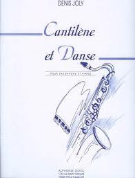 CANTILENE ET DANSE