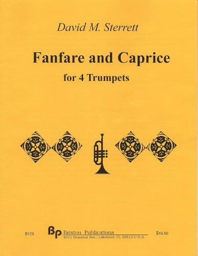 FANFARE AND CAPRICE (score & parts)