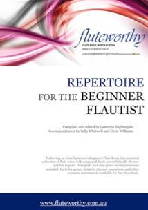 REPERTOIRE FOR THE BEGINNER FLAUTIST