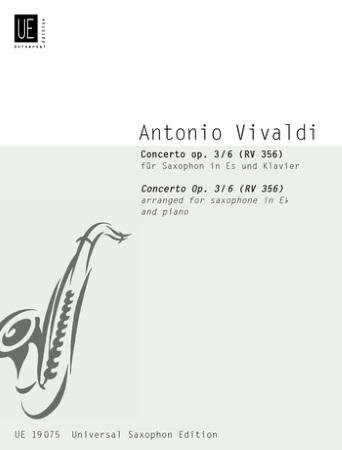 CONCERTO Op.3 No.6 RV356