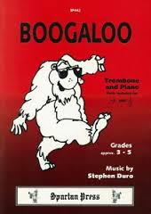 BOOGALOO treble/bass clef