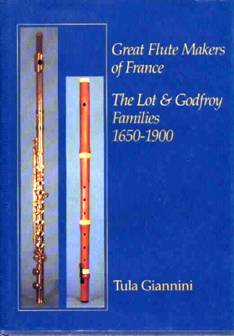 GREAT FLUTE MAKERS OF FRANCE