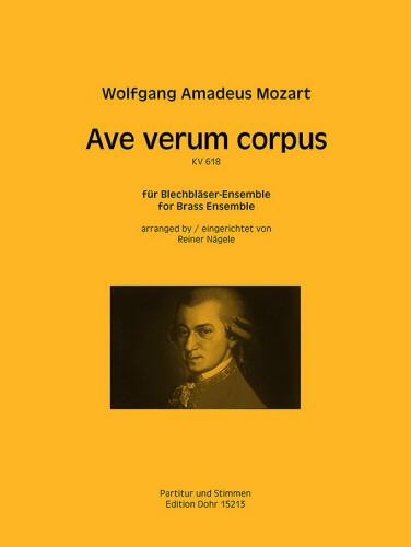 AVE VERUM CORPUS KV618 (score & parts)