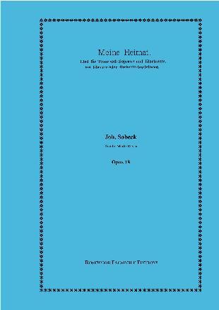 MEINE HEIMAT Op.18