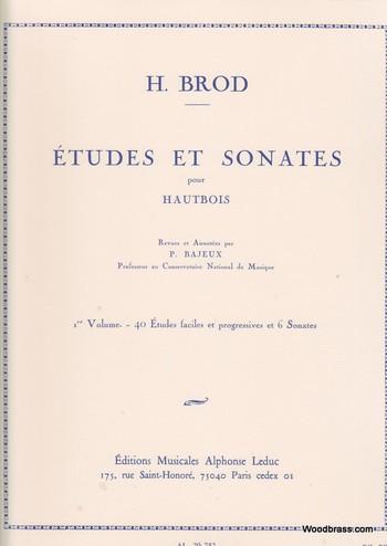 ETUDES ET SONATES Volume 1
