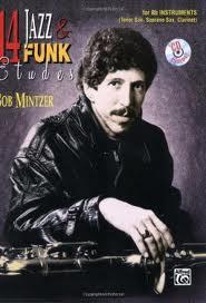 14 JAZZ & FUNK ETUDES + CD (Bb instruments)