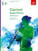 CLARINET EXAM PIECES 2014-2017 Grade 3 + CD