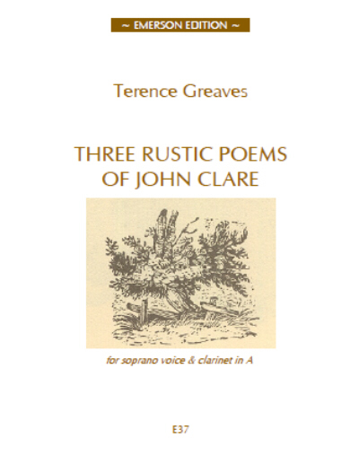 THREE RUSTIC POEMS OF JOHN CLARE
