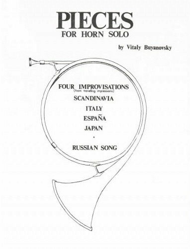 FOUR IMPROVISATIONS & RUSSIAN SONG