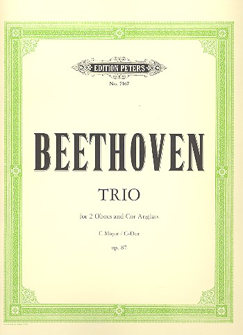 TRIO in C major Op.87 (set of parts)