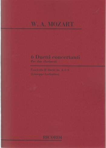 6 DUETTI CONCERTANTE Volume 2
