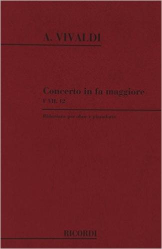 CONCERTO in F major FVII/12 PV318 RV457