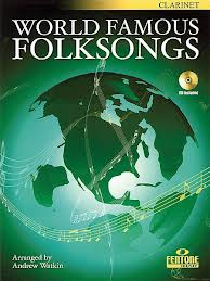 WORLD FAMOUS FOLKSONGS + CD