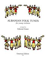 ALBANIAN FOLK TUNES for Young Violinists