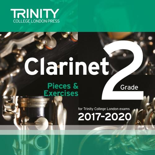 CLARINET PIECES 2017-2020 Grade 2 CD