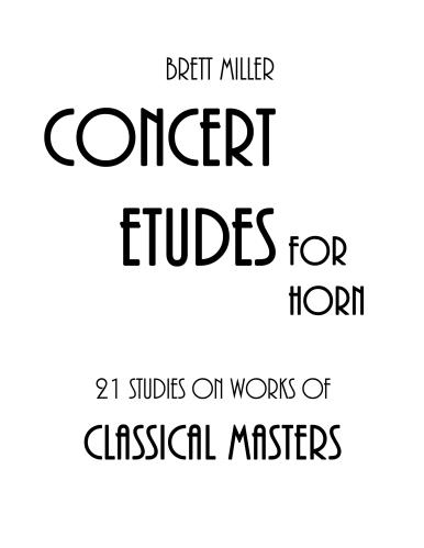 21 STUDIES on Works of Classical Masters