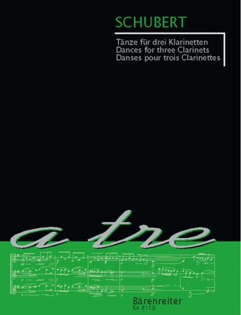 DANCES FOR THREE CLARINETS (playing score)