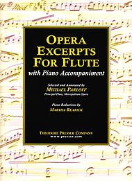 OPERA EXCERPTS FOR FLUTE