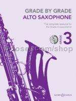 GRADE BY GRADE Grade 3 + CD Alto Saxophone