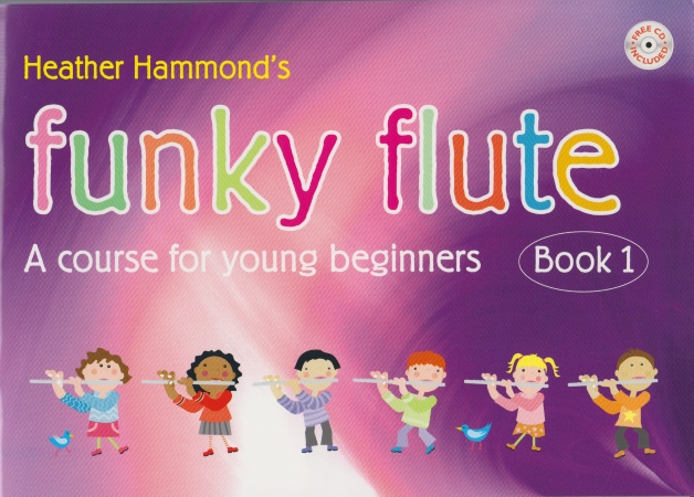 FUNKY FLUTE Book 1 + CD