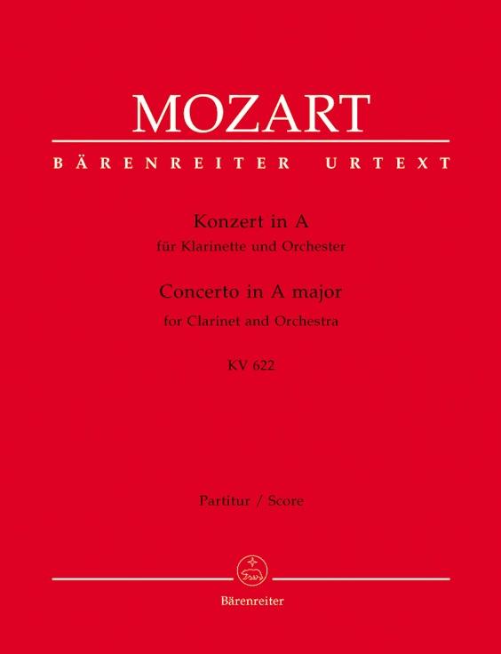 CLARINET CONCERTO in A major K622 Full Score