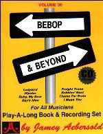 BEBOP AND BEYOND Volume 36 + CD
