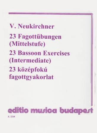 23 BASSOON EXERCISES Intermediate