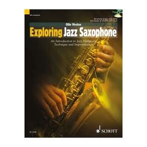 EXPLORING JAZZ SAXOPHONE + CD