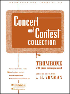 CONCERT AND CONTEST COLLECTION trombone part