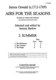 AIRS FOR THE SEASONS: Summer