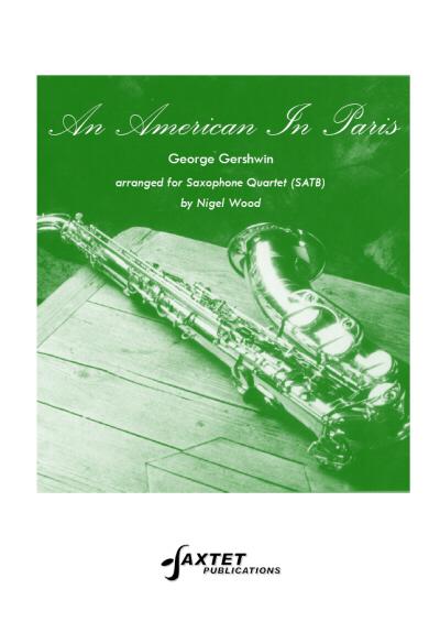 AN AMERICAN IN PARIS (score & parts)