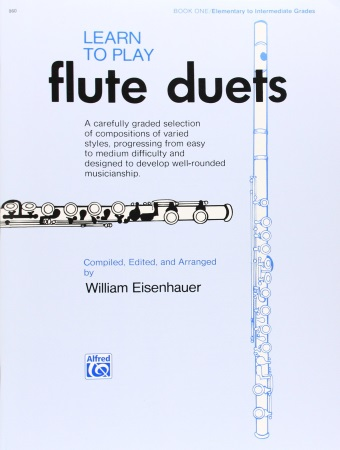 LEARN TO PLAY FLUTE DUETS Book 1