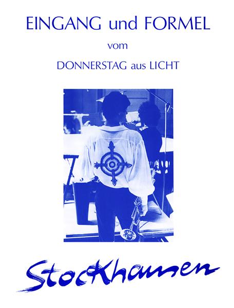 EINGANG UND FORMEL from 'Donnerstag aus Licht'
