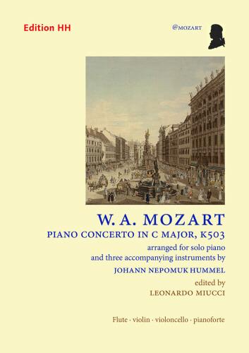 PIANO CONCERTO in C major, K503 (score & parts)