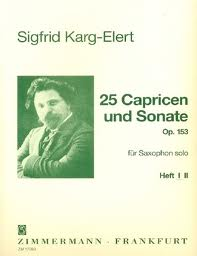 25 CAPRICES AND A SONATA Op.153 Volume 1